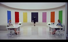 Quality magazine's offices, from the 1957 film Funny Face