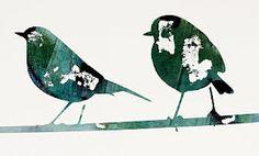 Art by Arlene Ligori.  Love them birds!