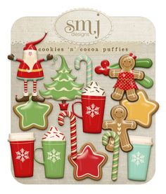 Cookies 'n' Cocoa Puffies | Shabby Miss Jenn Designs