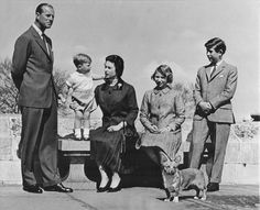 1962: The Royal Family celebrates Prince Andrew's birthday