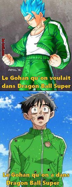 Le gohan qu'on voulait – celui qu'on a…   Be-troll - Visit now for 3D Dragon Ball Z compression shirts now on sale! #dragonball #dbz #dragonb