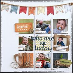 Scrapping Everyday Miracles Challenge by DT member Wendy