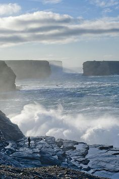 This is where I lived when I taught in Ireland--Kilkee.