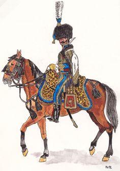 Chef d'Escadron, 1807, 5e Hussards
