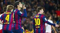 Blog Esportivo do Suíço:  Barça poupa Neymar e usa Messi e Suárez para vencer 9º jogo seguido
