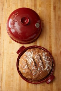 Using instant yeast and a bread cloche helps simplify this rustic bread recipe from baker Priscilla Martel.