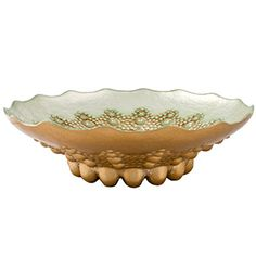 Moroccan Turquoise Antique Bowl - Fill with fruits, flowers or baubles for a centerpiece.