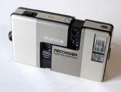 Konica A-35 Recorder half frame 35mm camera.