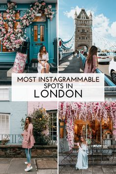 From the extra flower displays to the pastel house lined streets, I'd say London is easily one of the most. Places Around The World, Around The Worlds, Tower Bridge London, Pastel House, Sky Garden, London Places, Things To Do In London, Public Garden, London Travel