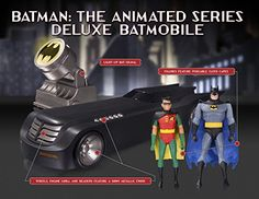 DC Collectibles Batman The Animated Series Deluxe Batmobile -- Read more reviews of the product by visiting the link on the image.