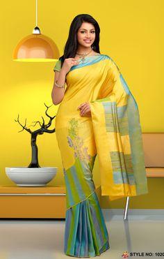 Rich Feel Soft Silk Saree 1020
