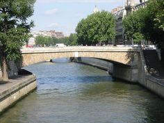 Petit-Pont vu du pont au Double - Paris