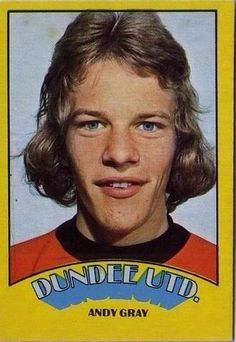 Andy Gray Football Stickers, Football Cards, Football Players, Football Stuff, Dundee United, Laws Of The Game, Association Football, Most Popular Sports, As Roma