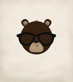 Geek bear!