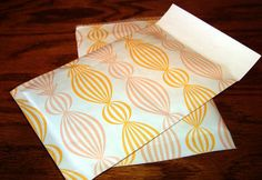 Handmade bubble mailers! #papercrafts