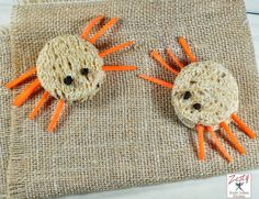 Edible Spider Sandwich and Witch finger cookies: Spooky treats for Halloween - Zesty South Indian Kitchen