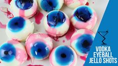 Eyeball Jello Shots Recipe - Drink Lab Cocktail & Drink Recipes