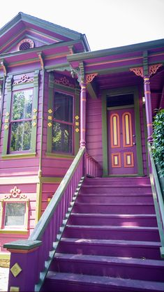 A Victorian house in midtown Sacramento. California has a lot of great Victorian buildings and homes.