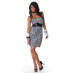 leopard mini BELT summer FLORAL Elegant mini club pleated frills Evening Cocktail Dress one size fit uk size 8, 10, 12 strapless boob tube PARTY GOWN or as top SPRING SUMMER FLORAL (black/white) italy gownplanet http://www.amazon.co.uk/dp/B00I3R00NO/ref=cm_sw_r_pi_dp_ANGrvb01NCTF1