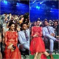 [PICS] Ranveer Singh and Deepika Padukone at IIFA Awards 2014 <3 http://t.co/jeSAAt8F4W
