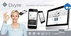 Elvyre - Responsive Drupal Theme