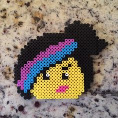 Wyldstyle/Lucy - The Lego Movie perler beads by beadartyyc