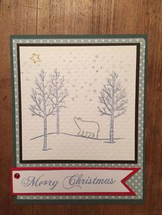 Scrapbooking card Merry Christmas