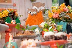 "Festa ""Little Fox"" by Atelier Tati Sabino #foxparty #festaraposa"
