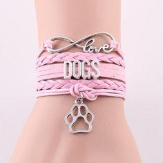 Love DOGS Bracelet - 4 Choices