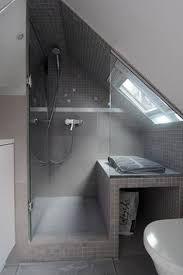 Image result for small attic bathroom