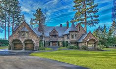 The Castle on Lake Tahoe, see more #dreamhouse photos and the price of this #mansion: http://mansion-homes.com/dream/the-castle-on-lake-tahoe/