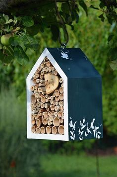 amazing insect houses for bugs!