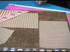 SCRAPBOOK PASSO A PASSO PÁGINA DE SCRAPBOOK COM A ARTESÃ JACIRA NISHIDA - YouTube
