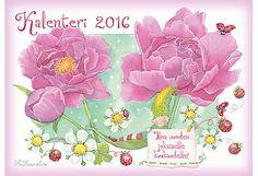 Karto Katri Kuusela Vuosikalenteri 2016, A4