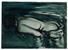 Marlene Dumas, Losing (Her Meaning), 1988