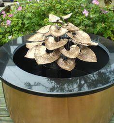 Outdoor Garden Water Fountains For Small Backyards Ideas