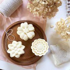 Designer Soap  Frankincense Myrrh Vetiver  Flower by KayaSoaps