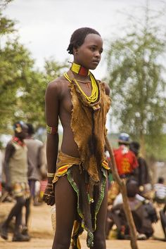 Young Hamer girl, Turmi, Ethiopia. It seems there is a depth flowing out of her. So much to be said, but will anyone listen?