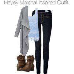 Hayley Marshall Inspired Outfit