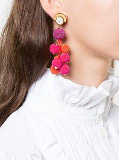 Lizzie Fortunato Jewels hanging drop earrings