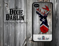 Country Rebel Buck & Bow Cell Phone Case - iPhone 4/4S/5/5S and Samsung Galaxy S3 case (CP0401)