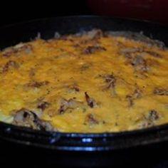Potato and Cheese Frittata
