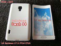 Kode Barang 1877 Jual Silikon Soft Case LG Optimus Dual L7 ii P714 P715 Putih (White) | Toko Online Rame - rameweb