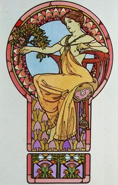 Alphonse Mucha Paintings 6