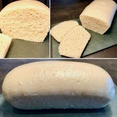 Le Pain de Mie sans croûte (et sans four !) - Patachou, miam-miam et compagnie - Nab Abdel - Cooking Bread, Cooking Chef, Easy Desserts, Delicious Desserts, Eating Gif, Organic Cooking, Easy Bread, Football Food, Food Inspiration