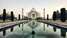 Blue Hour, Rise Above, Agra, Banks, Dawn, Taj Mahal, Shots, India, River