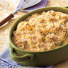 24 Thanksgiving Food Ideas With Recipes = two-cheese-squash-casserole