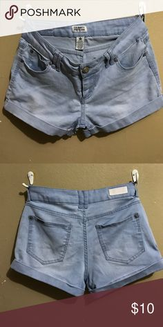 Light blue shorts Cute blue shorts. Comfortable and sexy to wear. Cotton material. celebrity pink jeans Shorts Jean Shorts