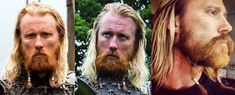 VIKING beard comment: I dont know that theres a name for Mr. Harrs beard