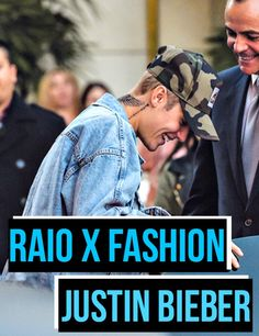 Blog Carolina Sales: Raio X Fashion - Justin Bieber